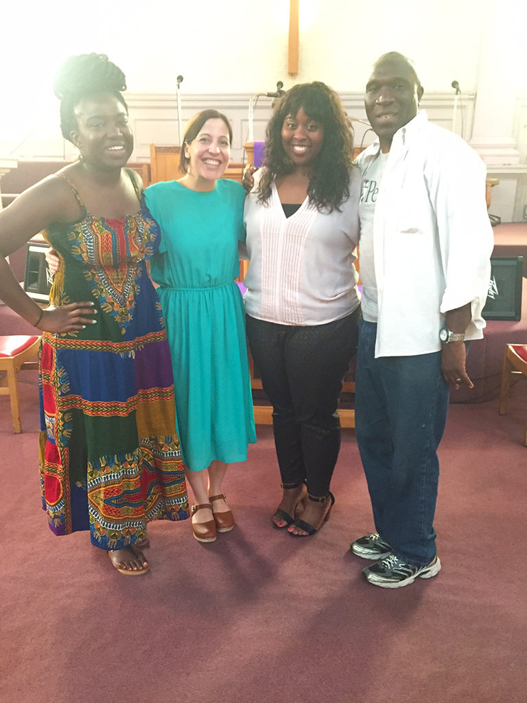 Friends at Family at Gibson Temple Baptist Church