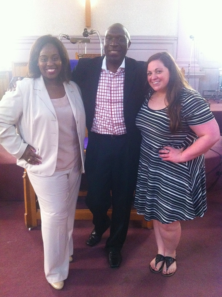 Just finished preaching at Gibson Temple Baptist Church